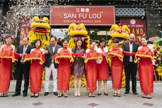 San Fu Lou RomeA Opening